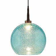 Bobo 2 LED Pendant (Aqua/Bronze) - OPEN BOX RETURN