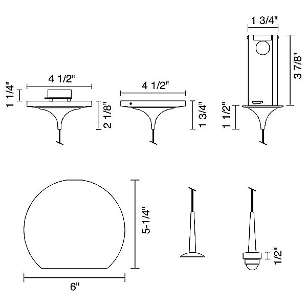 Bobo II Mini Pendant Light