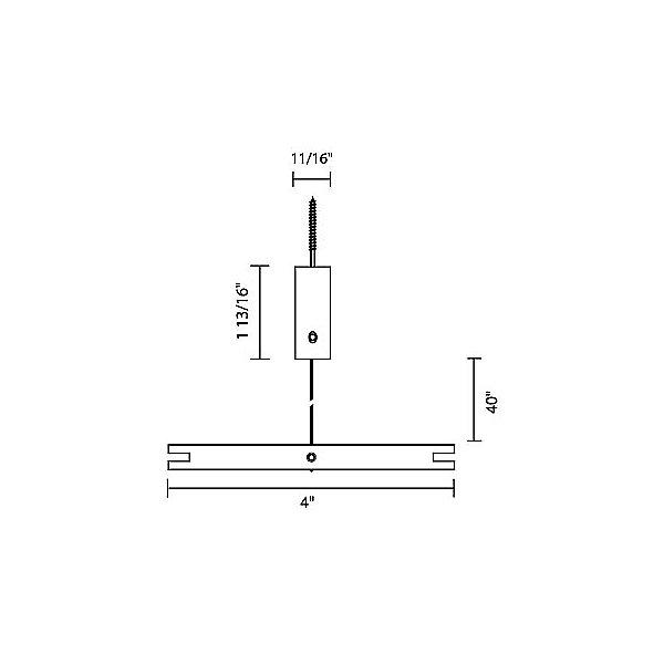 Flight Suspension Support - Horizontal