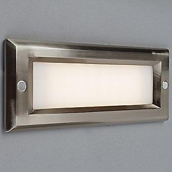 Brushed Nickel finish / Opal Lens