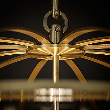 Satin Brass finish / Detail shot