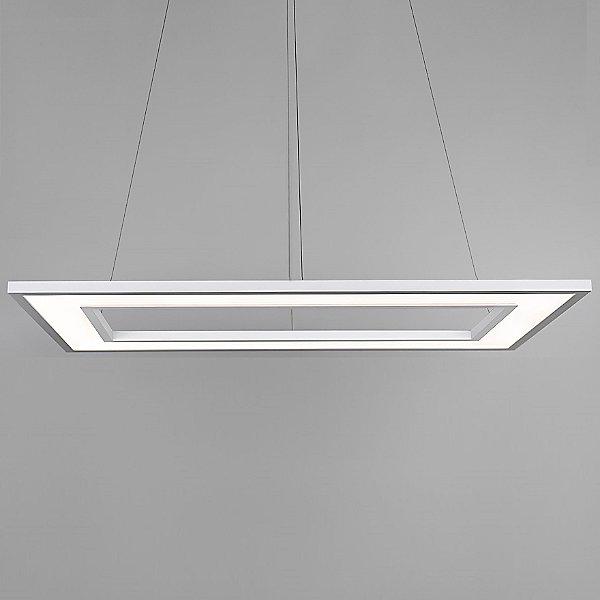 Ghost LED Rectangular Pendant Light