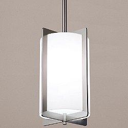Crisscross Lantern, Petite Pendant Light