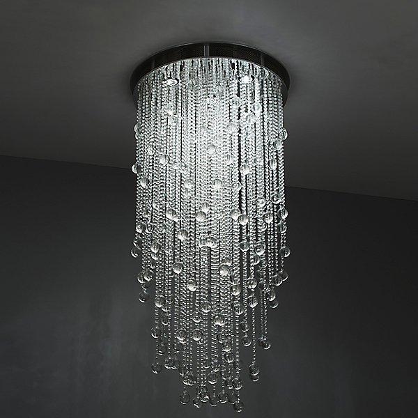 Cascade Round Suspension Light