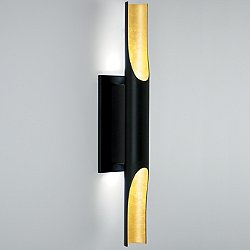 Halfpipe LED Sconce