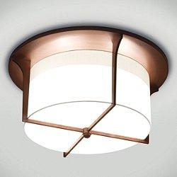 Soleil Drum Flush Mount Ceiling Light
