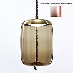 Knot Cilindro Pendant (Transparent/Copper) - OPEN BOX RETURN