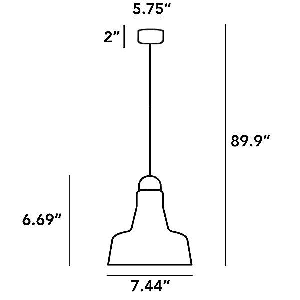 Shadow Small Pendant Light