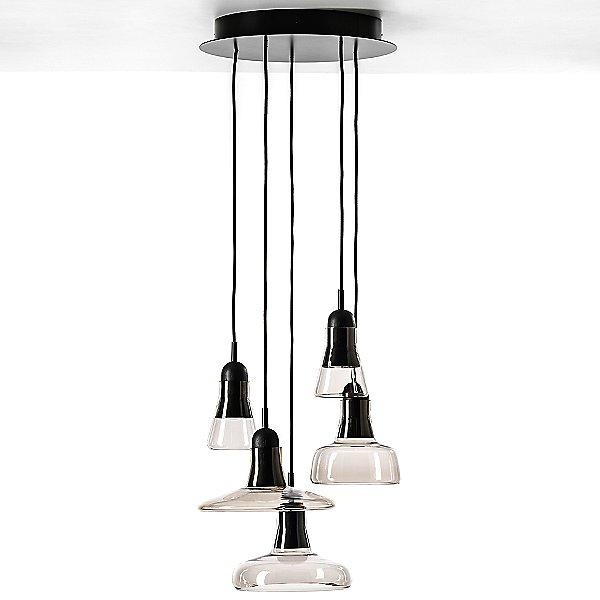 Shadow Ring Multi-Light LED Pendant Light