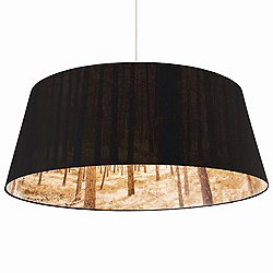 Shady Tree Extra Large Pendant Light (Black) - OPEN BOX RETURN