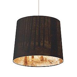 Shady Tree Small Pendant Light (Black) - OPEN BOX RETURN
