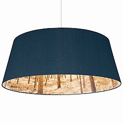 Shady Tree Extra Large Pendant Light (Blue) - OPEN BOX