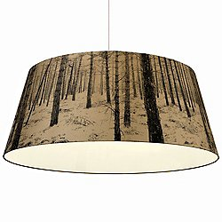 Shady Tree Forest Extra Large Pendant Light