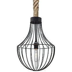 Sultana Flare Rope Pendant Light