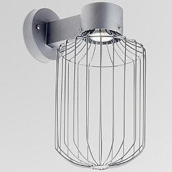 Sultana Outdoor Wall Sconce - Cylinder