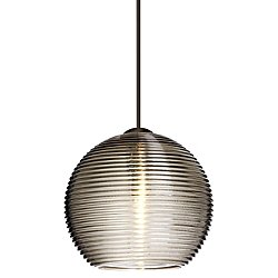 Kristall 6 One Light Low Voltage Pendant (Smoke/Nickel/Flat/LED) - OPEN BOX