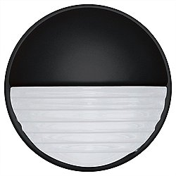 3019 Series Outdoor Wall Sconce (Black/Frost) - OPEN BOX RETURN