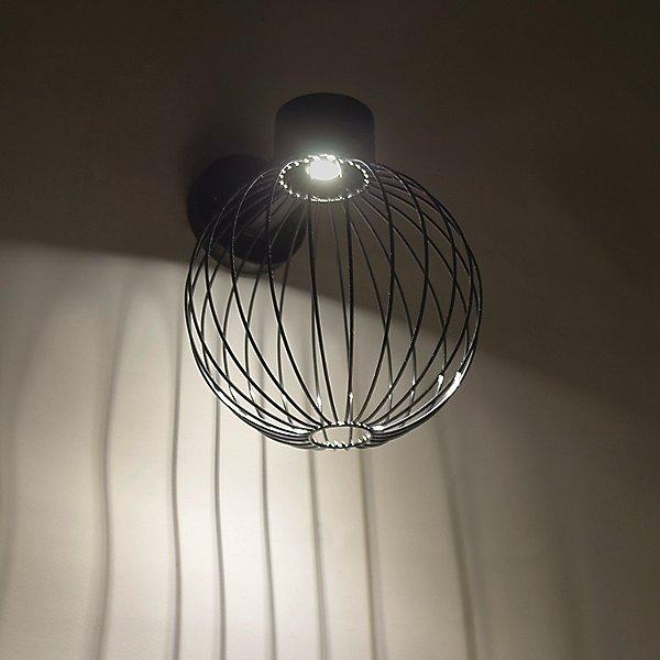 Sultana Globe LED Outdoor Wall Light