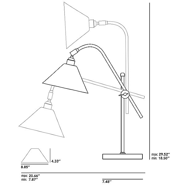 Task Ceramic Table Lamp