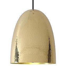 Stanley Pendant Light (Hammered Brass/Large) - OPEN BOX RETURN