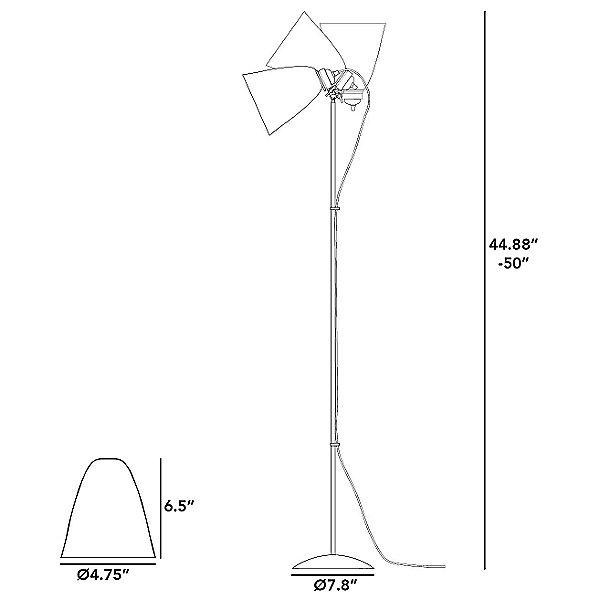 Hector Medium Dome Floor Lamp