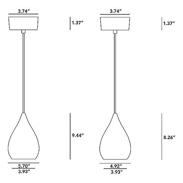 Drop One Pendant Light
