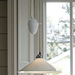 Cobb Rise and Fall Large Pendant Light