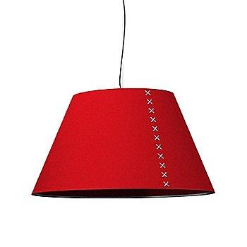 Black Frame / BuzziFelt Red Shade