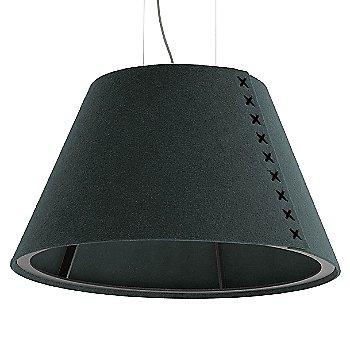 Black frame / BuzziFelt Anthracite shade / Black lace / Aluminum cable
