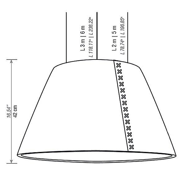 Buzzishade Medium Pendant