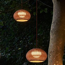 Garota Outdoor Plug-In Pendant Light