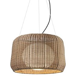 Fora Outdoor Pendant Light (Brown Graphite with Brown Shade/Large) - OPEN BOX RETURN