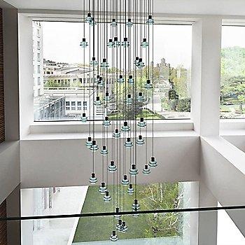 Green Glass finish / 48 Light