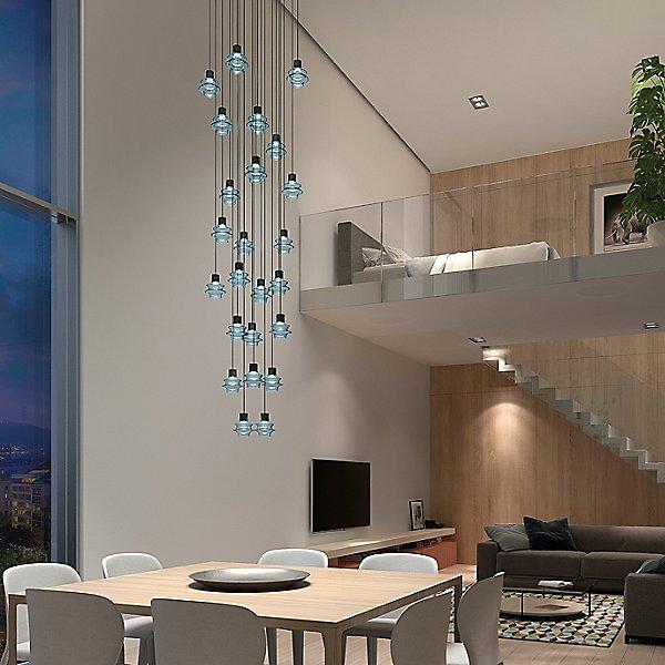 Drop Multi-Light Pendant Light