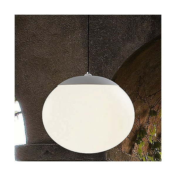 Elipse Outdoor Plug-In Pendant Light
