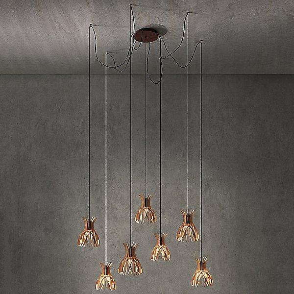 Domita Suspended Multi Light Pendant Light