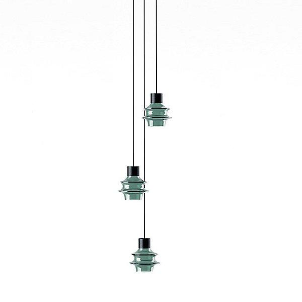 Drop 3 Light LED Multi Light Pendant Light