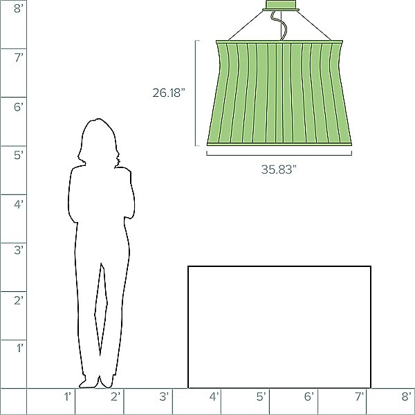 Syra LED Outdoor Pendant Light