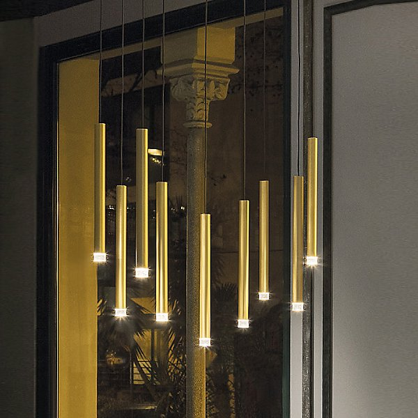 Candle LED Linear Suspension