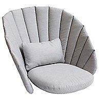 Peacock Lounge Chair Cushion Set