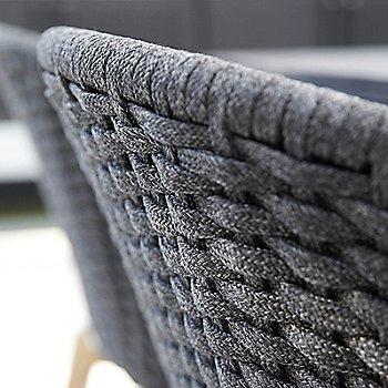 Light Grey with Teak Legs color, detail