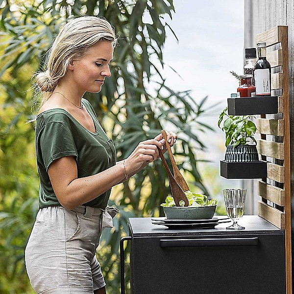 Drop Outdoor Kitchen Module Single Cabinet without Table Top