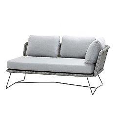 Horizon 2-Seater Left Sectional Sofa Module