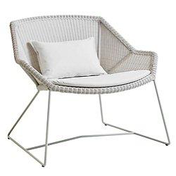 Breeze Lounge Chair Cushion Set (Natte White) - OPEN BOX