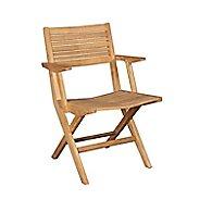 Flip Folding Outdoor Arm Chair