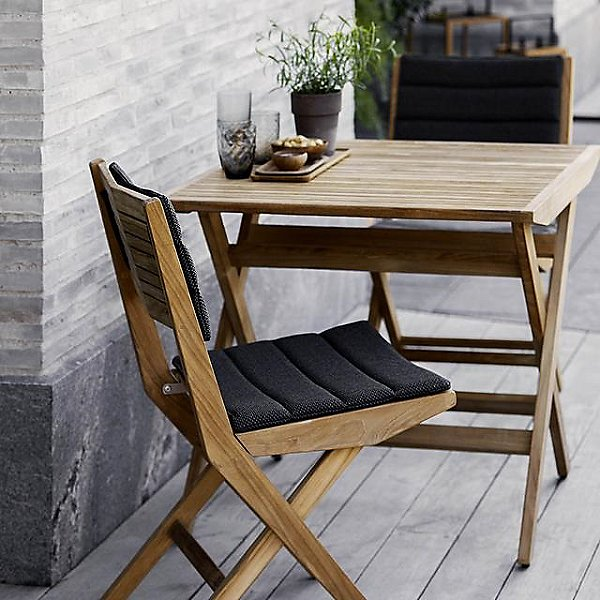Flip Folding Square Outdoor Dining Table