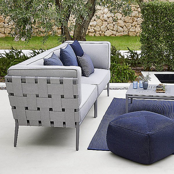 Conic 2 Seater Sofa Sectional