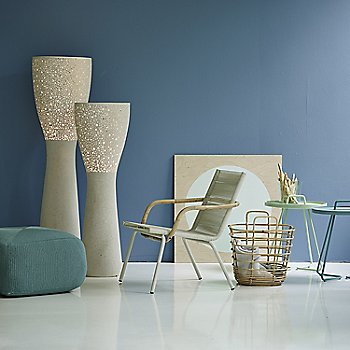 White pictured with the Divine Footstool, Light-up Floor Lamp, Sweep Rattan Basket and On the Move Side Tables (sold separately)