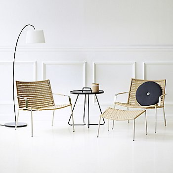 Natural pictured with the On the Move Side Table and the Straw Footstool (sold separately)