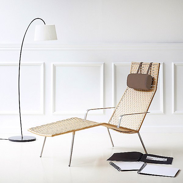 Straw Chaise Lounge